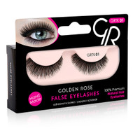 Golden Rose False Eye Lashes - 01 Buy online in Pakistan on Saloni.pk