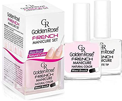 Golden Rose French Manicure