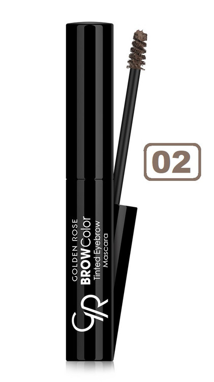 Golden Rose Brow Color Tinted Eyebrow Mascara - 02 Buy online in Pakistan on Saloni.pk