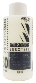 Dikson Emulsiondor Eurotype Developer Hair Color 30 Vol - 100ml