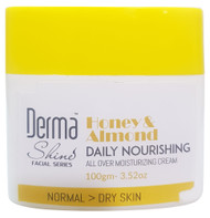 Derma Shine Honey & Almond Daily Nourishing Moisturizing Cream 100g Buy online in Pakistan on Saloni.pk