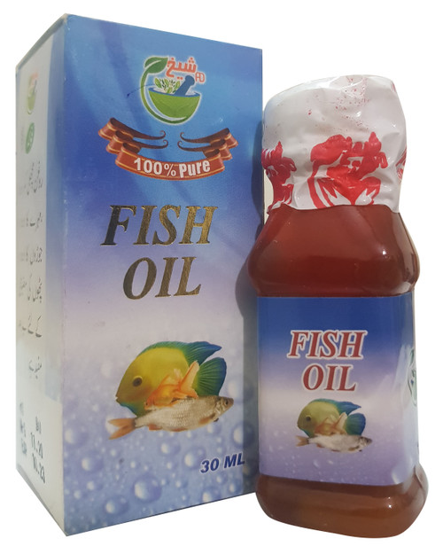 AD Sheikh 100% Pure ( Fish ) Oil 30ml Buy online in Pakistan on Saloni.pk