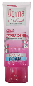 Derma Shine Radiance Pinkish White Facial Foam 100ml lowest price in pakistan
