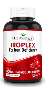 Herbiotics IROPLEX For Iron Deficiency- 30 Tab Buy online in Pakistan on Saloni.pk