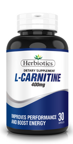 Herbiotics L-CARNITINE 400mg-30 Caps Buy online in Pakistan on Saloni.pk
