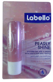 Nivea Labello Pearly Shine Lip Balm 4.8 Grams