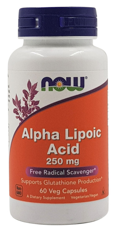 Buy Now Alpha Lipoic Acid 250mg 60 Veg Capsules online with best prices in Pakistan