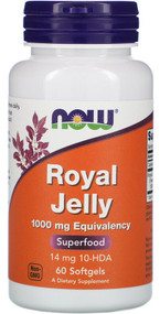 NOW FOOD Royal Jelly 1000mg - 60 Veg Capsules lowest price in pakistan