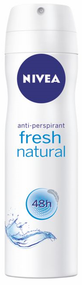 Nivea Fresh Natural For Women Anti-Perspirant 150 ML buy online best women deodorant in pakistan