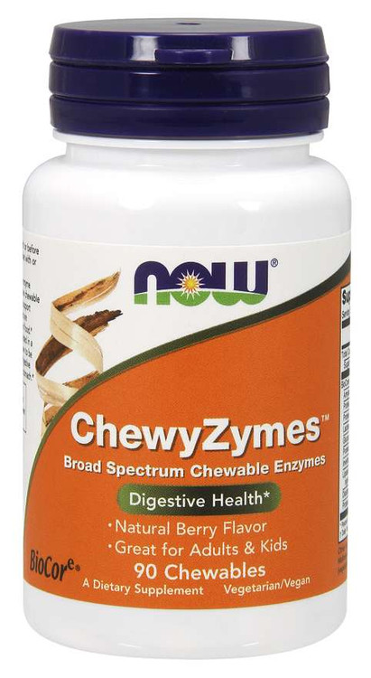 NOW FOOD ChewyZymes - 90 Chewable Buy online in Pakistan on Saloni.pk