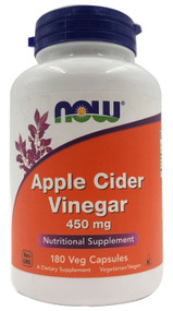 NOW FOOD Apple Cider Vinegar 450mg - 180 Veg Capsules Buy lowest price online in Pakistan on Saloni.pk