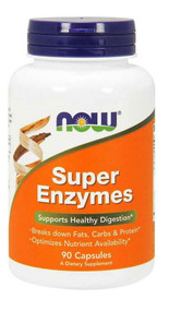 NOW FOOD Super Enzymes - 90 Capsules Buy online in Pakistan on Saloni.pk
