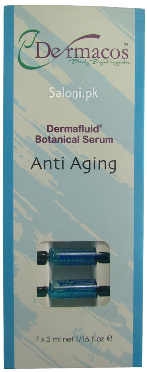 Dermacos Anti Aging Dermafluid Botanical Serum Front