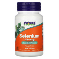 Now Foods Selenium 100 mcg - 100 Tablets