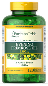 Puritan's Pride Evening Primrose Oil 1300mg - 120 Softgels Buy online in Pakistan on Saloni.pk