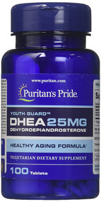 Puritan's Pride DHEA 25MG - 100 Tablets Buy online in Pakistan on Saloni.pk