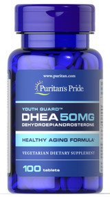 Puritan's Pride DHEA 50MG - 100 Tablets Buy online in Pakistan on Saloni.pk