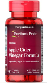 Puritan's Pride Apple Cider Vinegar Formula - 90 Tablets Buy online in Pakistan on Saloni.pk