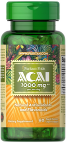 Puritan's Pride ACAI 1000mg -60 Softgels Buy online in Pakistan on Saloni.pk