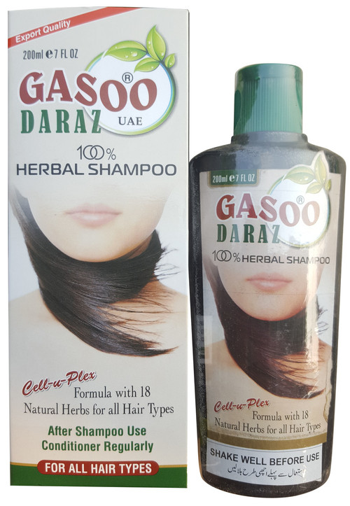 Gasoo Daraz 100% Herbal Shampoo 200 ML buy online in pakistan