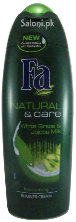 Fa Natural & Care White Grape & Jojoba Milk Moisturising Shower Cream Front