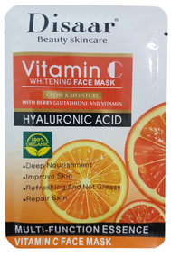 DISAAR Beauty Skincare Vitamin C And Hyaluronic Acid Whitening Face Mask - 25ml Buy online in Pakistan on Saloni.pk