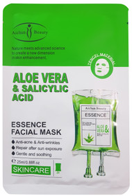 Aichun Beauty Aloe Vera & Salicylic Acid Essence Facial Mask- 25ml Buy online in Pakistan on Saloni.pk