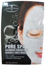 Aichun Beauty Pore SPA Bamboo Charcoal Bubble Face Mask- 25ml Buy online in Pakistan on Saloni.pk