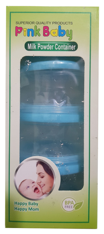 Pink Baby Milk Powder Container Buy online in Pakistan on Saloni.pk