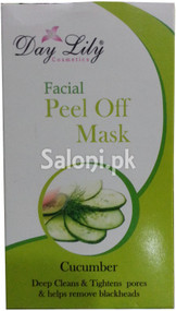 Day Lily Cucumber Facial Peel Off Mask (Front)