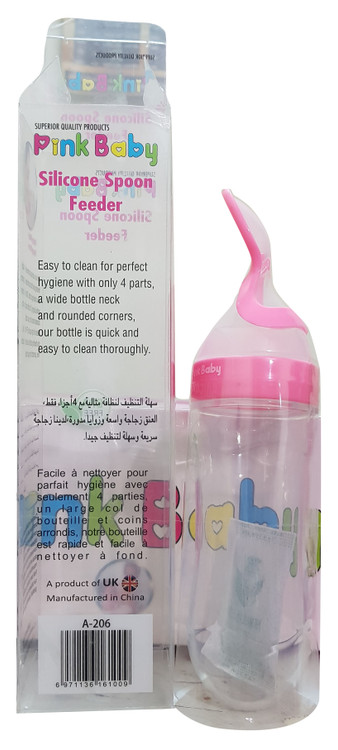 Pink Baby Material PP + Silicone Feeder ( A-206 ) Buy online in Pakistan on Saloni.pk