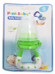 Pink Baby Fruit Feeder -Small  (FF-208) Buy online in Pakistan on Saloni.pk