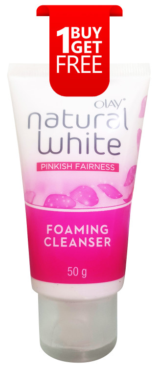 Olay Natural White Pinkish Fairness Foaming Cleanser 50g buy online in pakistan
