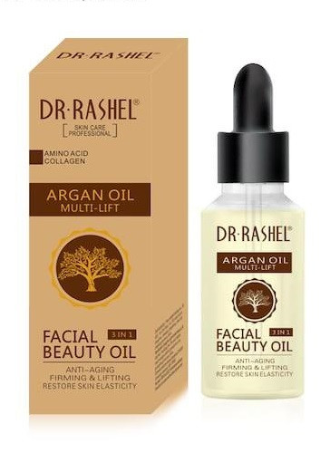 Dr.Rashel Argan Oil Multi Lift Facial Beauty Oil 3 In 1 - 30ml Buy online in Pakistan on Saloni.pk