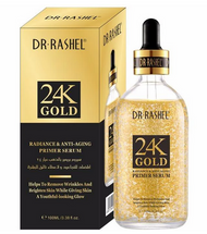 Dr.Rashel 24K Gold Radiance & Anti Aging Primer Serum - 100ml Buy online in Pakistan on Saloni.pk