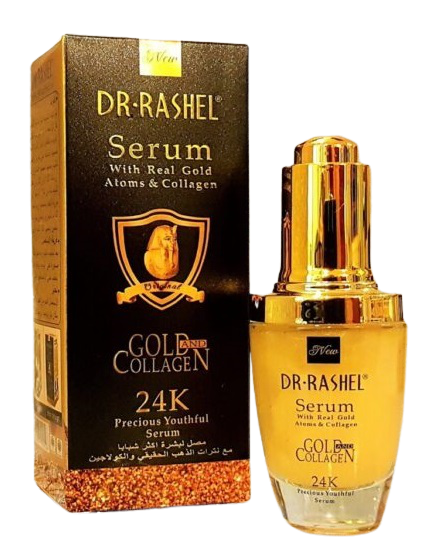Dr. Rashel 24K Gold & Collagen Serum- 40ml Buy online in Pakistan on Saloni.pk