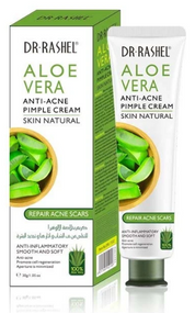 Dr.Rashel Skin Natural Aloe Vera Anti Acne Pimple Cream - 30gms Buy online in Pakistan on Saloni.pk