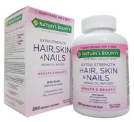 Nature's Bounty Extra Strength Hair, Skin & Nails with Biotin 250 Softgels  Buy online in Pakistan on Saloni.pk