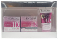 Eveline Prestige 4D Gift Set White Day Cream, Night Cream And Face Wash Buy online in Pakistan on Saloni.pk