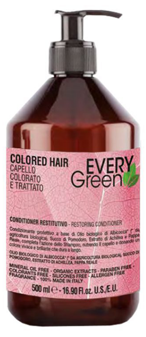 Dikson Every Green ( Colored ) Hair Protective Conditioner - 500ml Buy Online in Pakistan on Saloni.pk