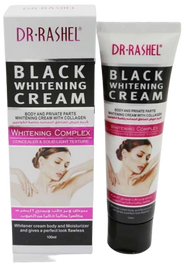 Dr.Rashel Black Whitening Cream With Collagen For Body And Private Parts, For  Women- 100ml Buy online in Pakistan on Saloni.pk