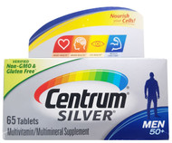 Centrum Silver Men 50+ Multivitamin/Multimineral Supplement- 65 Tablets Tablets Buy online in Pakistan on Saloni.pk