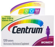 Centrum Silver Women Multivitamin/Multimineral Supplement- 120 Tablets Buy online in Pakistan on Saloni.pk