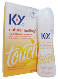 KY Natural Feeling With Botanical Essence Water Based Personal Lubricant & Massage Gel For Wetter Sex- 50ml Buy online in Pakistan on Saoni.pk