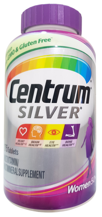 Centrum Silver Women 50+ MultivitaminMultimineral Supplement-275 Tablets buy lowest price in pakistan