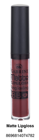 Gabrini Matte Lipgloss, A - 08 Buy online in Pakistan on Saloni.pk