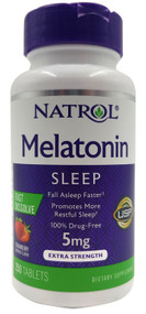 Natrol Melatonin 10mg Fall Asleep Faster 250 Tablets Buy online in Pakistan on Saloni.pk