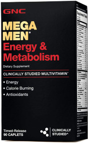 GNC Mega Men Energy & Metabolism 90 Caplets buy online in pakistan