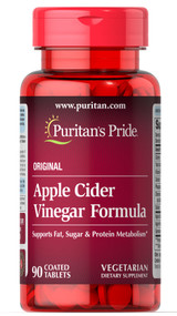 Puritan's Pride Apple Cider Vinegar Formula - 90 Tablets buy online in pakistan
