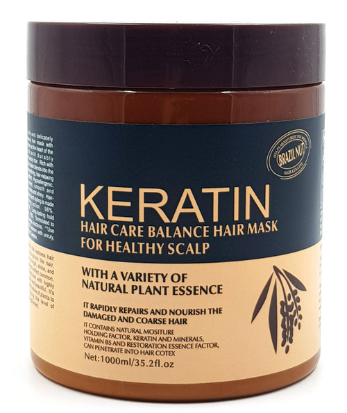 Keratin Hair Care Balance Hair Mask 1000ml (Healthy Scalp) buy online in pakistan